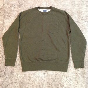 J. Crew men's pullover sweater with pocket size M